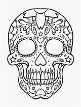 Coloring Pages Skull Crossbones Popular sketch template