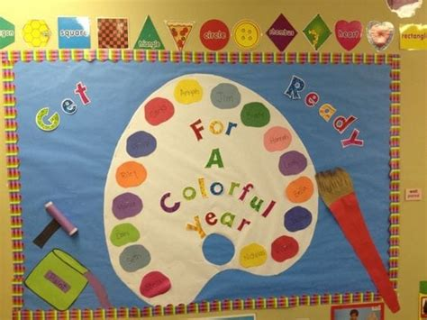 20 rainbow bulletin boards for a colorful classroom 818 | Colorful Year