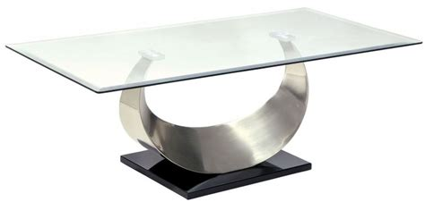 black and silver coffee table orla ii silver and black coffee table cm4726c furniture