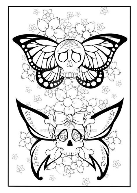 Image result for just add ink tattoo coloring book pages | Dessin coloriage, Dessin floral et
