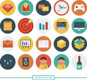 33  Best Free Flat Icons For Designers