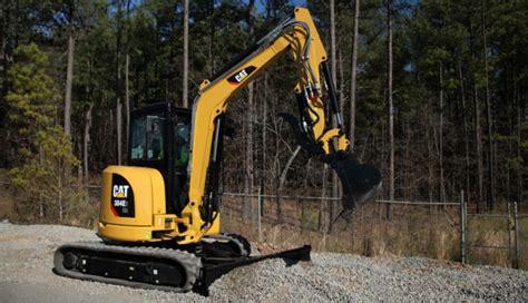 cat  series mini hydraulic excavators   high definition hydraulic system  cab