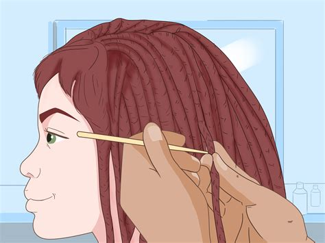ways   dreads lock faster wikihow