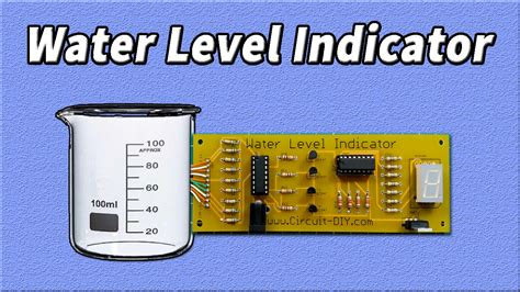 simple water level indicator circuit electronics projects