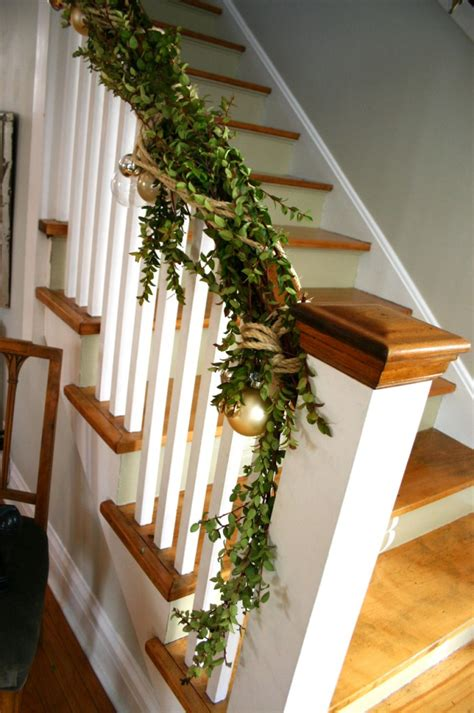 Banister Garland by Banister Tricks Family Chic By Camilla Fabbri 169 2009 2018