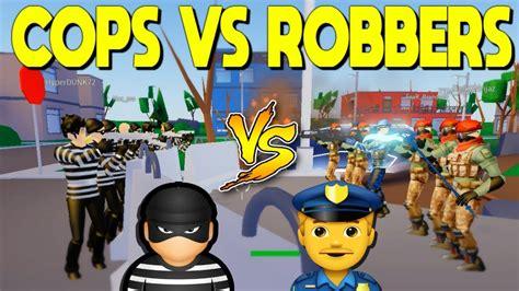 cops  robbers  strucid roblox youtube