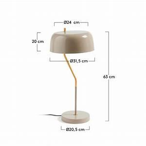 Lampe à Poser Design : lampe poser design en m tal versa drawer ~ Teatrodelosmanantiales.com Idées de Décoration