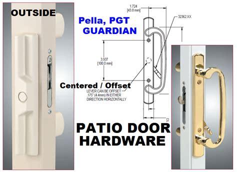 pella sliding patio door locking handle set mortise assembly pella glider slider  style