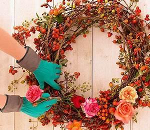 Herbstkränze Selber Machen : herbstkr nze selber machen kranz binden pinterest herbst kranz und herbstkr nze ~ Markanthonyermac.com Haus und Dekorationen