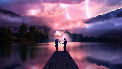 Couple Hands Pier Wallpapers 4k Holdings Electric