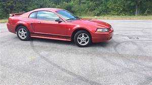 2002 Ford Mustang 3.8L V6 5 speed review - YouTube