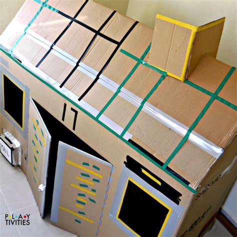 26 Coolest Cardboard Houses Ever Playtivities