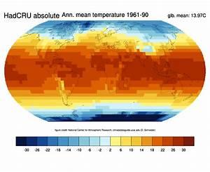 Global Surface Temperature Data  Hadcrut4 And Crutem4