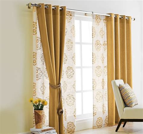 opaque curtains with sheers curtains for sliding glass