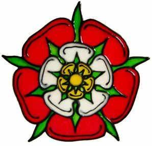Handmade Peelable Decoration - Tudor Rose