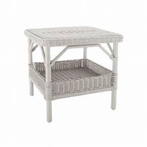 Table Basse Rotin : table basse en rotin laqu nantucket pm ~ Teatrodelosmanantiales.com Idées de Décoration