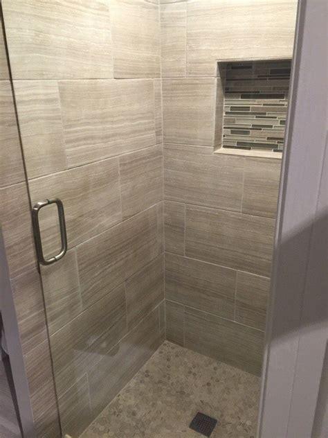 12x24 Tile Bathroom by Arizona Tile Eramosa Clay 6x24 12x24 Pol 12x24