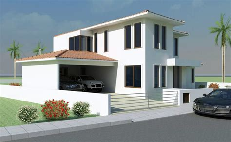 Modern House Exterior Front