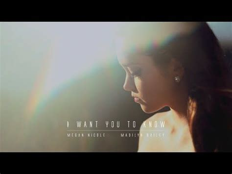 I WANT YOU TO KNOW - Zedd feat. Selena Gomez (Cover) Megan ...