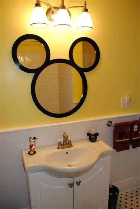 ideas  mickey mouse wall mirrors