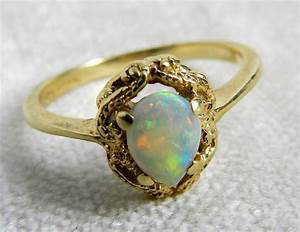 vintage engagement ring opal engagement ring firey opal set in With antique opal wedding rings