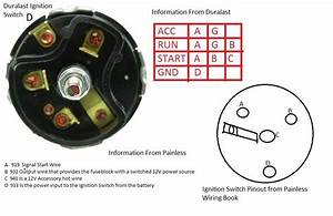 1965 Mustang Ignition Switch Question