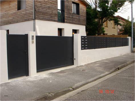 barrière aluminium jardin barriere exterieur cloture en aluminium fonds