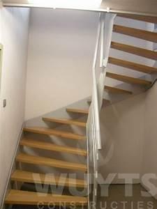 Dubbele Kwartdraai Trap - Wuyts Constructies  U2013 Heist-op-den-berg - Wuyts Constructies