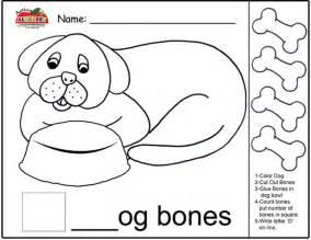 letter d activities preschool lesson plans 708 | D Dog Bones Count