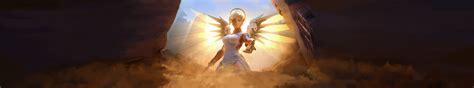 #Overwatch, #Mercy (Overwatch), #ultrawide, #triple screen