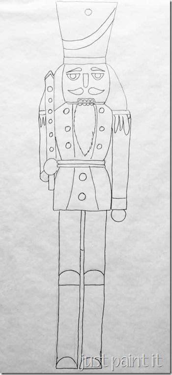 christmas soldier steps to drawyard sign nutcracker pattern and winter nutcracker yard crafts