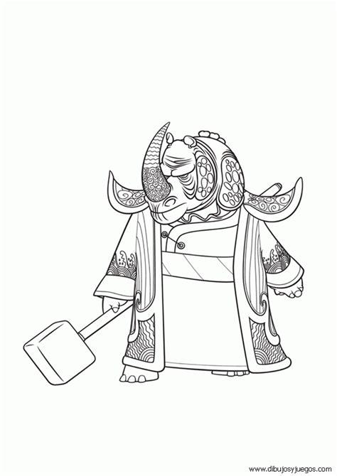 dibujo kung fu panda  dibujos  juegos  pintar