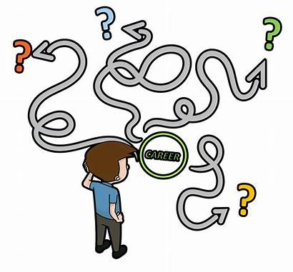 Confusion Cartoon Confused Clipart Change Career Svg