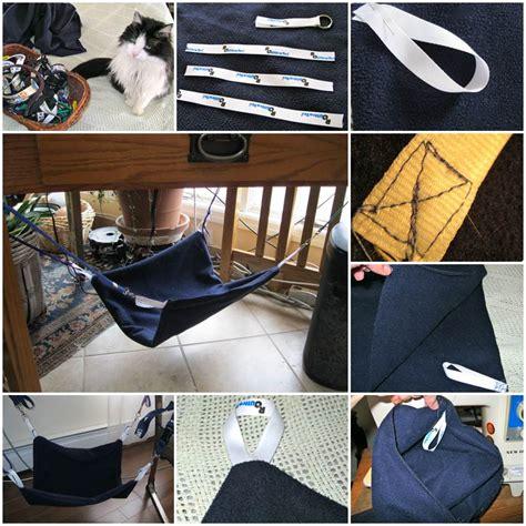 cat hammock diy diy leopard print bed from an end table lovepetsdiy