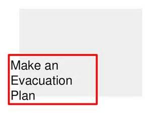 Make a Home Evacuation Plan