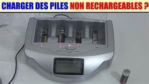 Chargeur De Piles Universel : charger des piles non rechargeable alcaline chargeur ~ Melissatoandfro.com Idées de Décoration