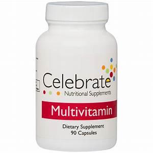 Celebrate Bariatric Supplements Multivitamin Capsules (90 ...