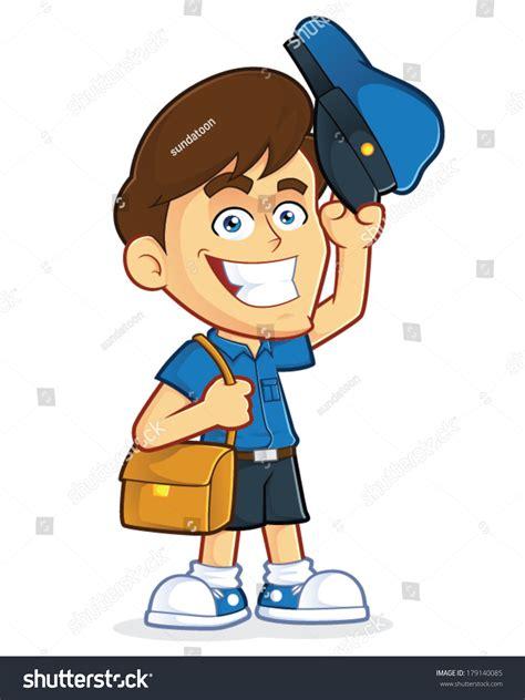 mailman hat clipart mailman stock vector 179140085