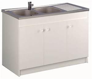 meuble de cuisine sous evier liberty aquarine With marvelous photo de meuble de cuisine 12 evier 1 bac avec meuble