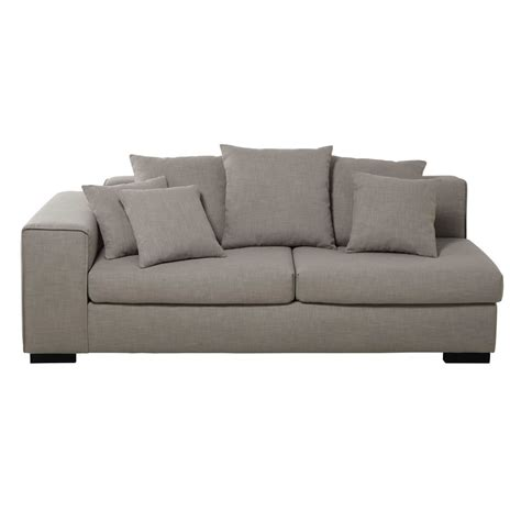 accoudoir de canapé accoudoir gauche de canapé 3 places modulable en