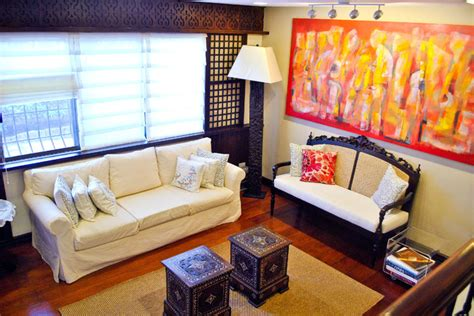 simple living room ideas philippines traditional residence