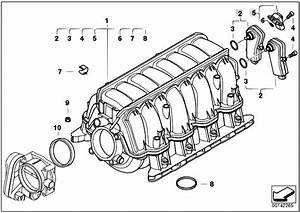 Original Parts For E70 X5 4 8i N62n Sav    Engine   Intake Manifold System