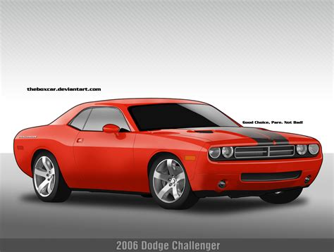2006 Dodge Challenger Concept By Theboxcar On Deviantart