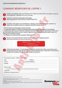 Offre De Remboursement : offre de remboursement odr 20 sur tablette lenovo a7 50 ~ Carolinahurricanesstore.com Idées de Décoration