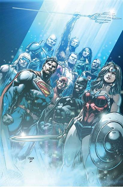 Justice League Dc Earth Textless Prime Comics