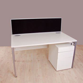 Office Desk Edging by New Linking Desk Mounted Screens With Aluminium Edging