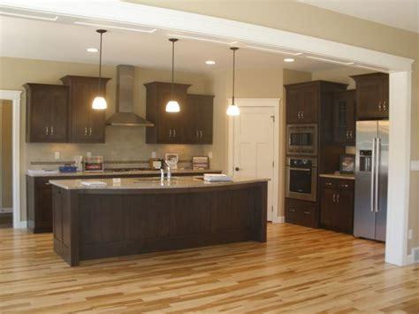 shaped kitchens  island  corner pantry kitchen