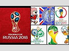 Logo Rusia 2018 mira los logos de la historia de los