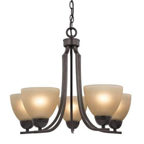 titan lighting kingston 5 light ceiling oil rubbed bronze