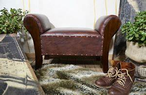 Sitzbank Flur Vintage : vintage sitzbank flur ledersofa sitzhocker bank schuhe ~ Watch28wear.com Haus und Dekorationen